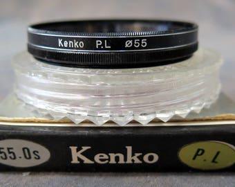 55mm Kenko PL (Polarizing) Lens Filter