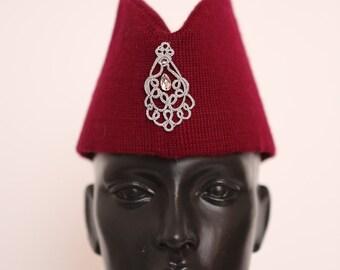 Fashion knitted hat garrison cap