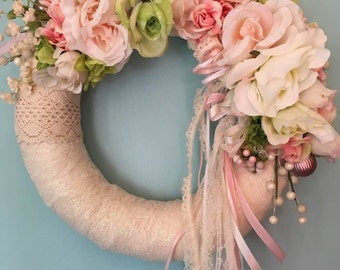 Shabby Flowers & Lace