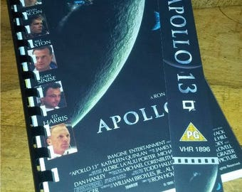 VHS Handmade Notepad - APOLLO 13