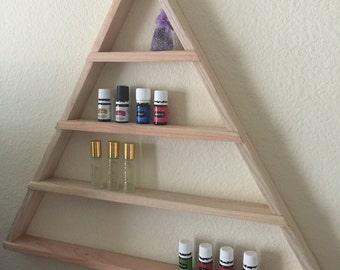Essential Oils Shelf - Triangle