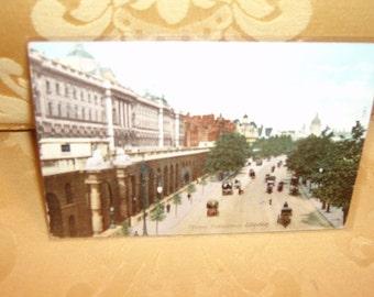 Vintage postcard, London scene, c. 1904