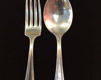 WR Baby fork and spoon set