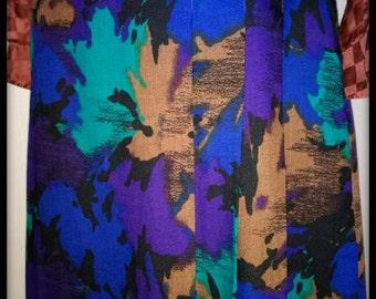 Skirt Vintage leaves