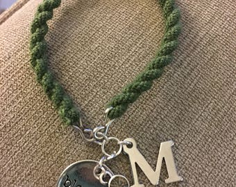 Blousing Strap Charm Bracelet