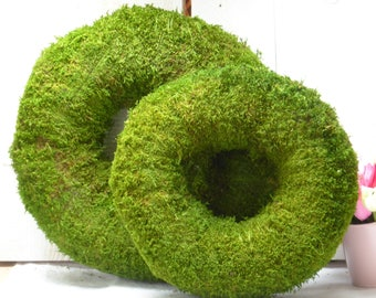 MOSS wreath 30 or 38 cm
