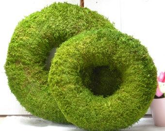 MOSS wreath 30 or 38 cm