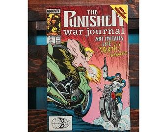The Punisher War Journal Number 12 1988