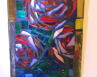 Stained Glass 2... Roses