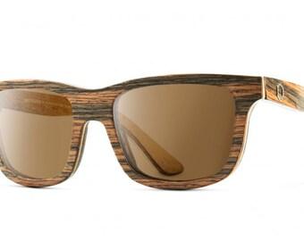 Natural wood sunglasses