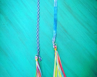 Rainbow Tassel Bookmarks