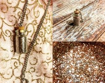 Pixie dust necklaces