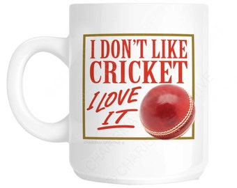 Cricket Novelty Fun Mug CH335