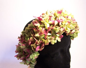 Crown HEADDRESS of preserved flowers