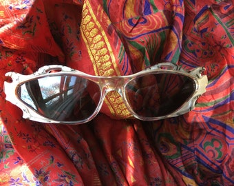 Vintage French Sunglasses 1980's Shades by Designer Gerard Levet Sunglasses with Flaimjng Lips!