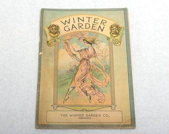 "1917 Winter Garden Company Broadway Playbill for Lee & Shubert's ""Doing Our Bit"""