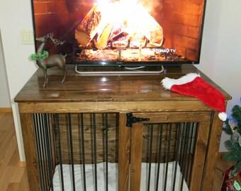 Christmas - Custom Handmade Kennel / Crate for Dogs