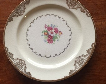 Paden City Pottery Bread and Butter Plate (chipped)