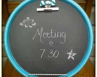 Round Chalkboard,