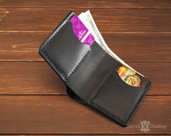 Minimalist wallet Small leather wallet Slim wallet Gift for him Comfortable and  practical wallet SW002