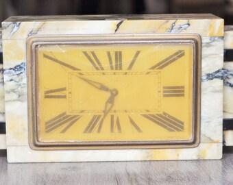 Art Deco Clock Etsy