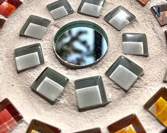 """Aurum mosaic coasters """"True Colours"""""""