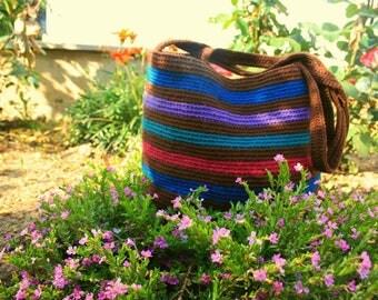 Shoulder bag, Cotton,wayuu,bag,handmade,crochet,style