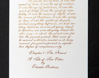 Wedding vows card etsy calligraphy writing custom letters envelopes wedding vows cards invitation junglespirit Gallery