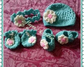 Cozy Baby Crochet set
