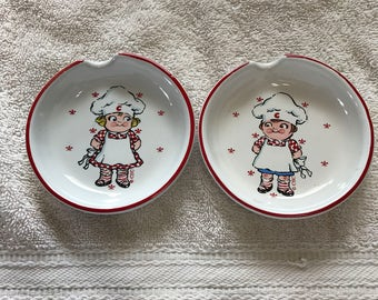 Campbell's Soup Kids spoon rests