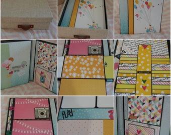 Memory Keeping Photo Folio, Girls Photo Album, Teen Scrapbook Album