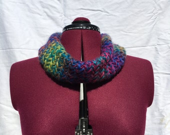 Rainbow Hatchet Cowl