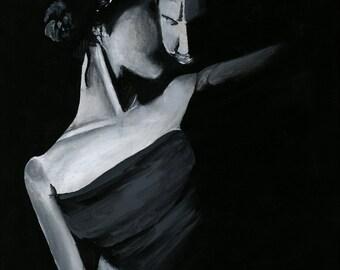 Cuddle Canvas Acrylic Art - Portrait