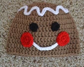 Gingerbread Man/Woman Hat