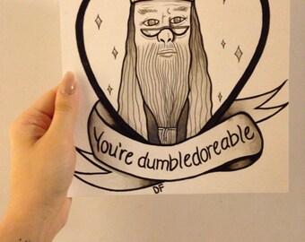Dumbledore Valentine/Love note