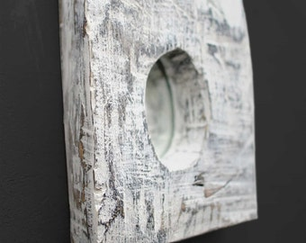 Small Wooden Scratched Mirror, Shabby chic Mirror, Wall Mirrors Decorative, Decorative Wall Mirrors, Rustic Mirror, Decorative Mirror Wall