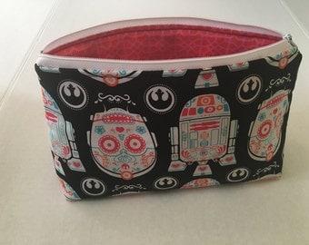 Star Wars makeup and toiletry bag
