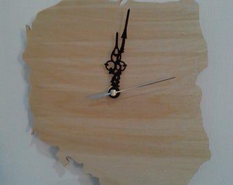 Wooden handmade country clocks