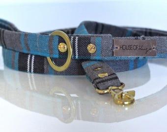 Handmade Tweed/ Tartan/ Pattern Dog Lead/ Leash - Match to any HOH collar