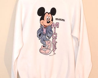 Vintage Mickey Mouse Philadelphia Sweater
