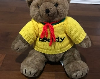 Vintage Rare Presidents Choice Teddy Bear 1986 18 inch