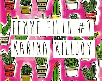 femme filth #1: a zine about radical vulnerability, femme survival, recovery, & mental health - digital copy