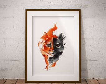 Cats poster  Etsy