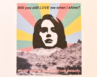 Lana Del Rey Sticker #2
