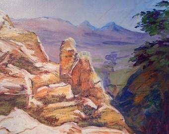 grand canyon yellow rocks