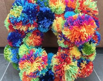 Celebration Pom Pom Ring