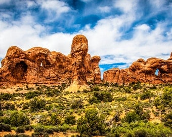 Parade of the Elephants in Arches National Park
