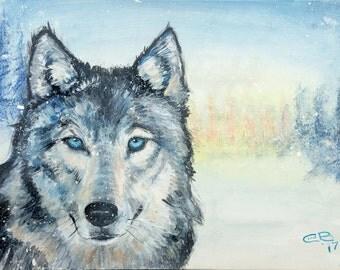 Spirit Wolf Limited Edition Print