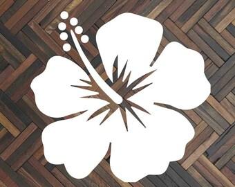 Hibiscus decal Hibiscus flower Hibiscus sticker Hibiscus car decal Hawaii decal Flower decal Flower car decal Flower sticker Summer decal