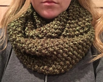Green & Brown Scarf